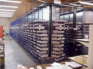 GSA Horizontal Carousels bring supply to pickers